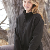 Ladies' Bonded Thermal Soft Shell Jacket With Dupont Teflon®