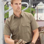 Ripstop Short Sleeve Work Shirt